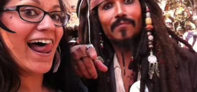 Sara and Jack Sparrow