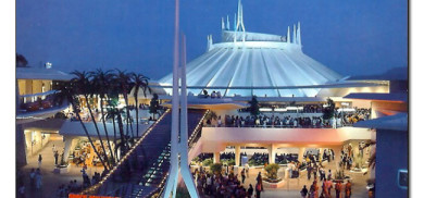 Vintage Space Mountain
