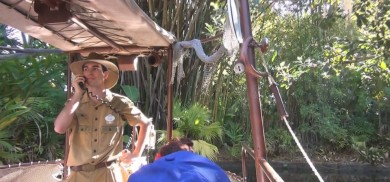 favorite Jungle Cruise skipper ever