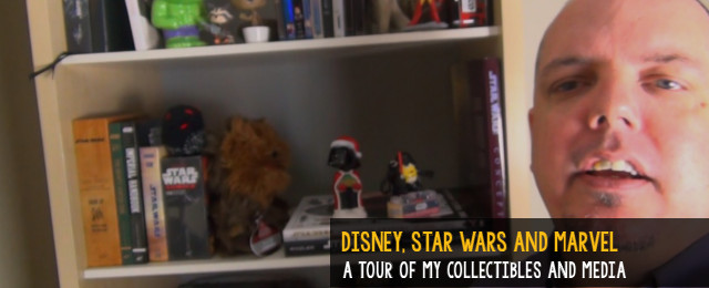 Star Wars collectibles and media