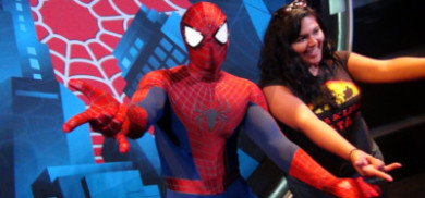 The week we met Darth Vader and Spider Man