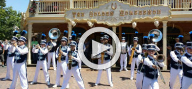 2015 Disneyland Band Golden Horseshoe