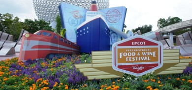 2011 Epcot International Food & Wine Festival.