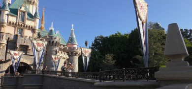 Sleeping Beautys Castle | Views and sounds from the park v. 5 | Acoustic Disneyland
