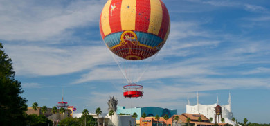 The week we say Disney World from a hot air balloon - 11/12/16