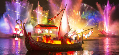NEW Rivers of Light show at Animal Kingdom [WDW]