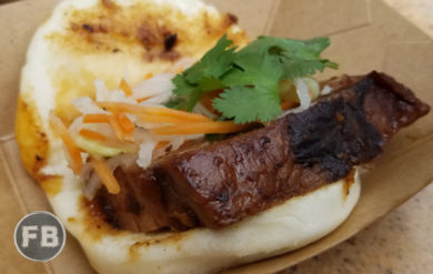 Food and Wine Festival Pork Bao