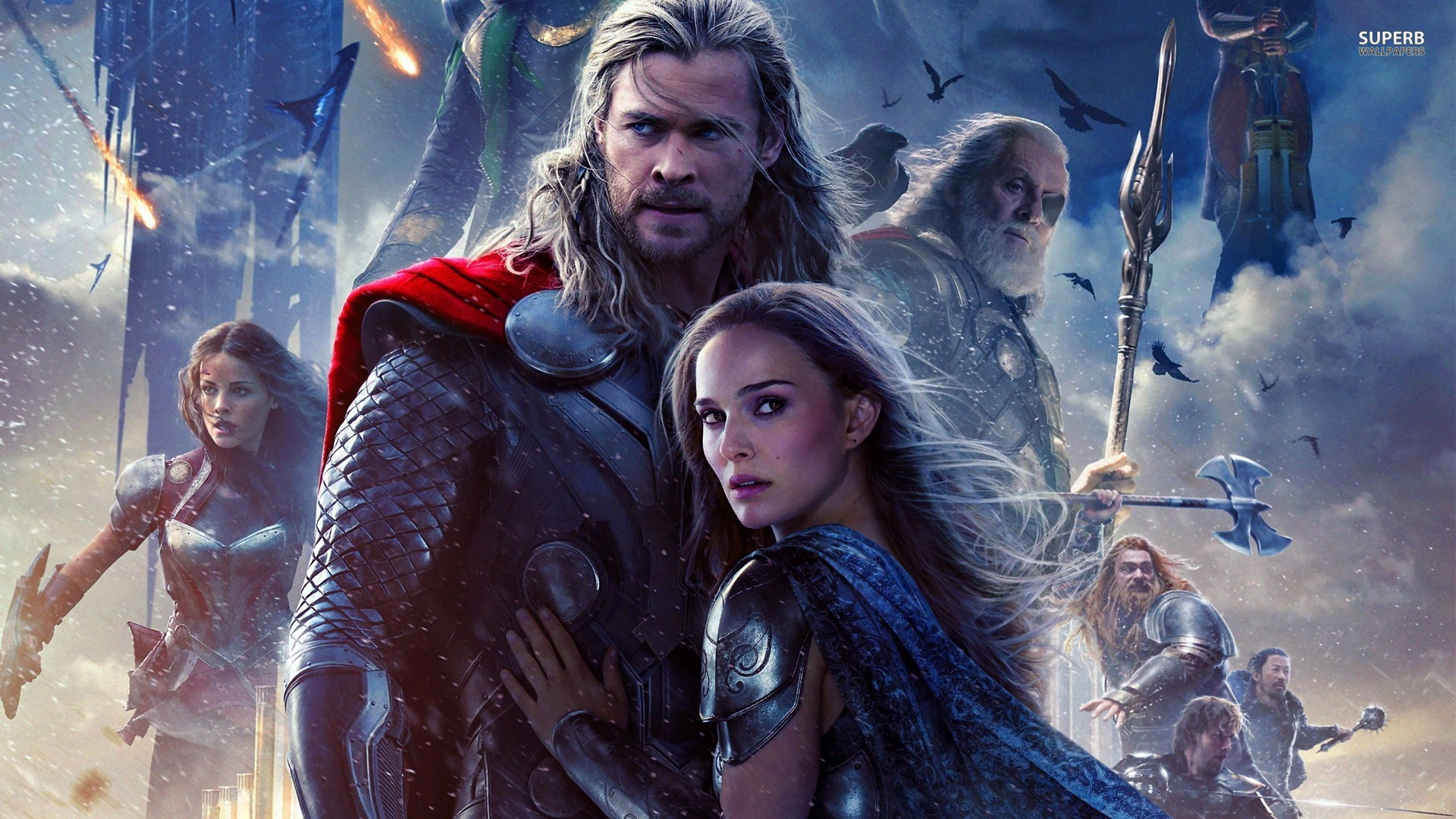 thor the dark world is confusing but fun to watch -