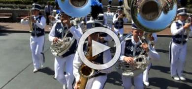 Disneyland Band at Town Square