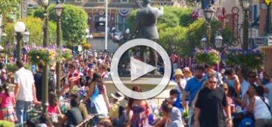 Disneyland is too crowded