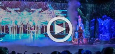 Elsa evicts Aladdin
