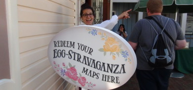 The week we had our Disneyland Easter Egg Hunt