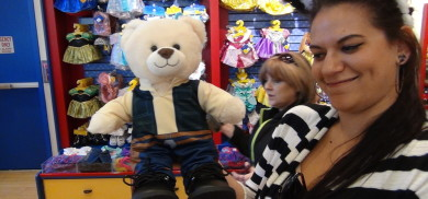 The week we were reunited with Bear the Fresh Baked Bear