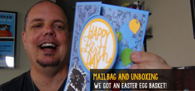 Fresh Baked mail unboxing - We got an Easter basket