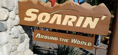 The week we saw Soarin over the World