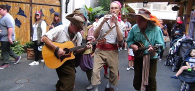 The Bootstrappers from New Orleans Square