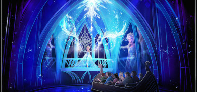 Frozen Ever After at Epcot in Walt Disney World
