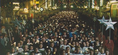 A brief history of Christmas at Disneyland   Disneyland Secrets and History