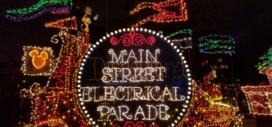 The week the Main Street Electrical Parade returned